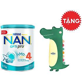 Sữa Bột Nestlé NAN OPTIPRO 4 HMO Lon 1.7kg + Tặng Gối Ôm Cá Sấu (Màu Ngẫu Nhiên)