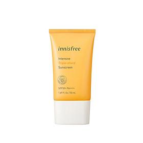 Kem chống nắng lâu trôi làm sáng da innisfree Intensive Triple Care Sunscreen SPF50+ PA++++ 50ml - 131172646