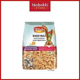 Nui xoắn rau củ/mầm lúa mì Selva 350g