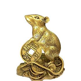 Tượng con vật Chuột tiền Ngô đình sanh V 1