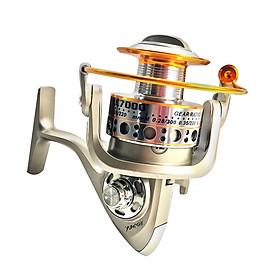 Máy câu cá Yumoshi LC 3000-4000-5000-6000-7000 tay quay núm gỗ, gọn nhẹ, dễ mang theo, tương thích với mọi loại cần câu hỗ trợ lắp máy, máy câu cao cấp thương hiệu T1999 tặng kèm 100m cước