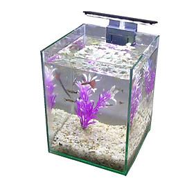 Bể cá mini để bàn 15x15x20 có đèn