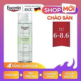 Nước Hoa Hồng Cho Da Mụn Eucerin Pro Acne Toner 200ml