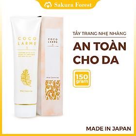 Gel Rửa Mặt + Tẩy Trang Dịu Nhẹ Dành Cho Da Nhạy Cảm Cocolarme Mild Cleansing (120g)