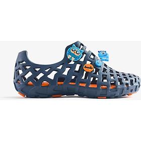 Giày nhựa đi mưa Nữ LD 101 Pop Xanh dương cam