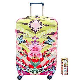 Túi Bọc Vali Hình Hoa Loqi (58 x 65 cm)