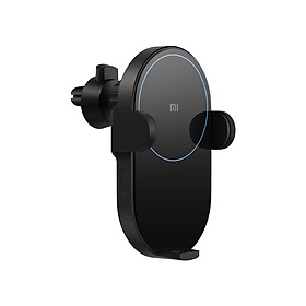 Xiaomi 20W Car Wireless Charger Auto Clip For iPhone Xs Max For Samsung Mi Fast Wireless Car Charger With Phone Holder - Black