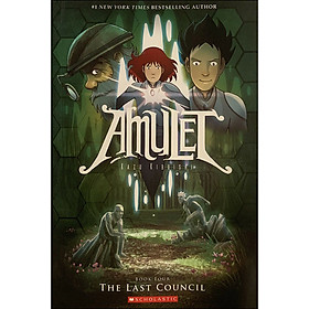Amulet Book 4: The Last Council (Graphic Novel)