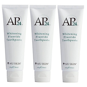 Combo 03 Tuýp Kem Đánh Răng Ap24 Whitening Fluoride Toothpaste 110g