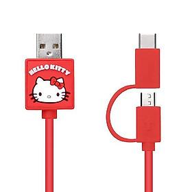 Dây cáp sạc nhanh 2 trong 1 Micro USB /TypeC