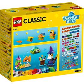 Đồ chơi LEGO Classic Hộp Lắp Ráp Sáng Tạo Trong Suốt 11013