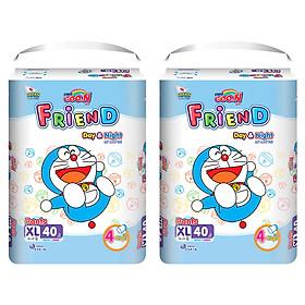 Combo 2 gói Tã quần Goo.n Friend XL40 thiết kế mới