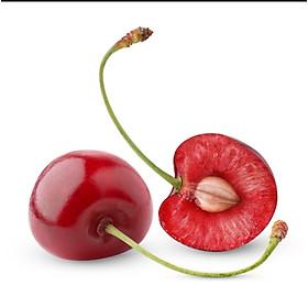 [Chỉ giao HN] - Cherry Mỹ Size 10 - Cuống tươi xanh, trái đỏ tươi bắt mắt, thịt giòn nhẹ