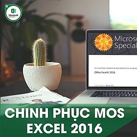 Khóa học online Chinh phục chứng chỉ MOS EXCEL 2016 Tin học Cộng
