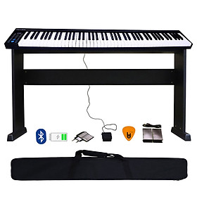 Bộ Đàn Piano Điện Konix PH88 - 88 Phím nặng Cảm ứng lực PH-88 - Midi Keyboard Controllers - Kèm Chân Gỗ, Móng Gẩy DreamMaker