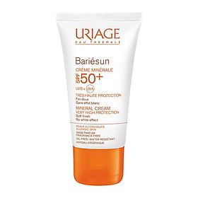 Kem chống nắng bảo vệ da tối đa Uriage Bariésun Crème Minerale SPF50+ 50ml