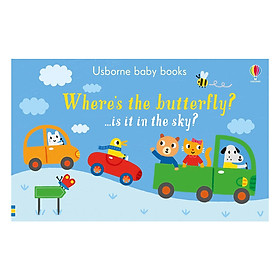 Where's the Butterfly? - Usborne Baby Books (Board book)