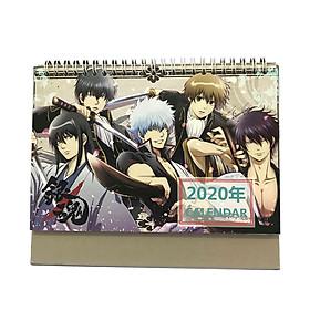 (Lịch 2020) Lịch để bàn hình Anime Gintama