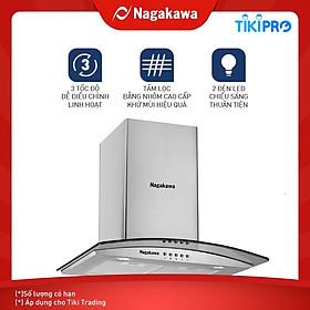Máy Hút Mùi Kính Cong Nagakawa NAG1851-70C (70cm) - Hàng chính hãng