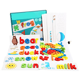 Đồ Chơi Ghép Chữ Spelling Game (Từ 3-6 tuổi)