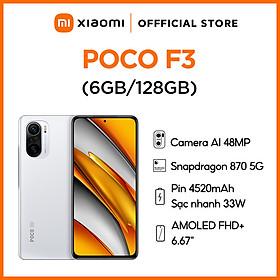 Điện Thoại Thông Minh Xiaomi Poco F3 6GB l 128GB - Hàng Chính Hãng