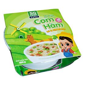 Cơm Hầm Bò Và Đậu Hà Lan SG Food (150g)