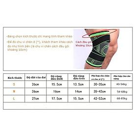 Băng đai bảo vệ giảm áp lực lên xương đầu gối khi tập Gym AK_24-6