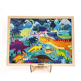 Xếp hình gỗ Wooden Puzzle khủng long Dinosaur