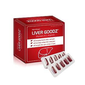 Viên bổ gan LIVER GOODz 50 viên (Mới) - Bổ gan, Mát gan, Giải độc, Tăng cường chức năng gan, Bảo vệ tế bào gan