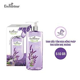 [HQ] Tinh dầu tắm Enchanteur Naturelle Lavender thư giãn nhẹ nhàng 510gr