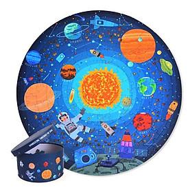 Ghép hình Khám phá vũ trụ - Wandering Through Space - Đồ chơi xếp hình Chính hãng Mideer