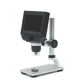 Kính hiển vi điện tử để bàn có 8 hạt đèn led màn hình hiển thị LCD HD 4.3inch ( Tặng kèm 01 móc khóa tô vít ba chức năng )