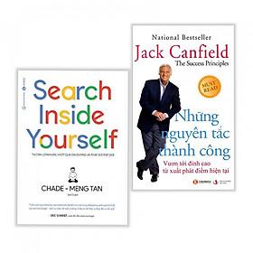 Combo sách kinh tế nên đọc : Search inside yourself + Những nguyên tắc thành công - Tặng kèm bookmark thiết kế