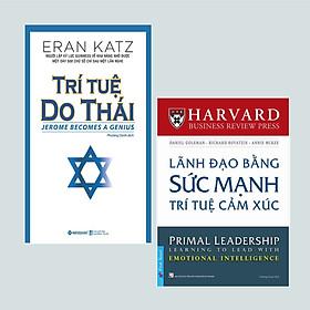 Combo (2 Cuốn): Trí Tuệ Do Thái (Tái Bản) + Lãnh Đạo Bằng Sức Mạnh Trí Tuệ Cảm Xúc