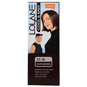 Thuốc Nhuộm Tóc Lolane M4 - Nâu Đen