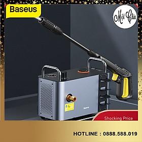 Máy rửa xe cao cấp Baseus công suất lớn 1300W IPX5 dùng cho gia đình, vệ sinh nhà cửa và các thiết bị - Hàng Chính Hãng