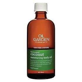 Oil Garden Fractionated Coconut Body Oil 100ml