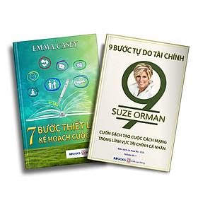 Bộ Sách Kỹ Năng Quản Lý Tiền Bạc: 9 Bước Tự Do Tài Chính + 7 Bước Thiết Lập Kế Hoạch Cuộc Đời