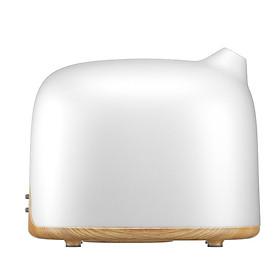 Máy khuếch tán tinh dầu thông minh 300ml điều khiển từ xa qua WIFI (voi trắng)