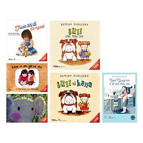 Combo Ehon Nhật Bản Dành Cho Trẻ Từ 3 - 6 Tuổi (Tặng Kèm Sách Người Mỹ Giúp Con Ở Độ Tuổi Mầm Non)