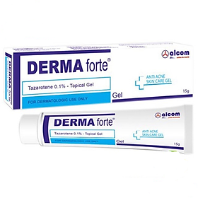 Gel Mụn Liền Sẹo Gamma Chemecals Derma Forte 15g