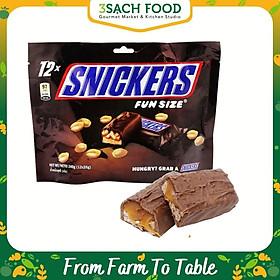 Kẹo Chocolate Snickers Funsize 240g