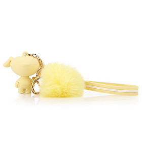 JOY Solid Color Keychain Pendant (Yellow)