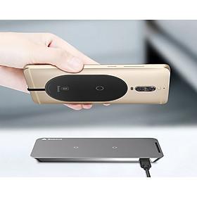 Baseus Wireless Charge Receiver dùng cho các bộ sạc không dây (Type C/ Lightning/ Micro USB - Cuộn cảm ứng từ) - Hàng Chính Hãng