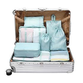 Must be beautiful / BUBM travel storage bag wash bag luggage clothes finishing storage bag shoe bag travel set LXSN8-01 eight sets