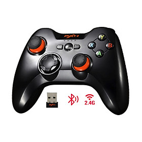 Tay cầm chơi game không dây PXN 9613 (Bluetooth/USB/Dây Sạc) - Hàng Chính Hãng