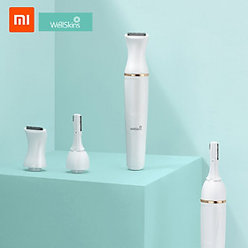 Xiaomi Youpin Wéllskins Electric Eyebrow Trimmer Repairer Shaver Body Hair Removal with Pivoting Head 30° Adjustable
