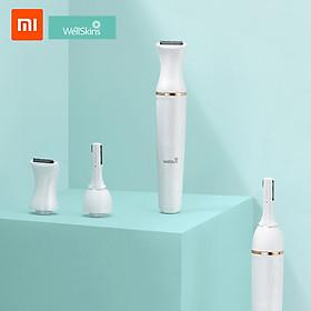 Máy Cạo Lông Đa Năng Xiaomi Youpin Wéllskins Electric Với Đầu Xoay 30 Độ
