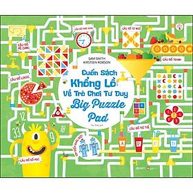 Cuốn Sách Khổng Lồ Về Trò Chơi Tư Duy - Big Puzzle Pad