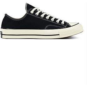 Giày Sneaker Unisex Converse Chuck Taylor All Star 1970s Black/w Low 2018